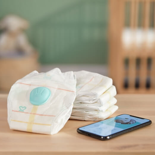 Pampers sells a diaper with a sensor on it